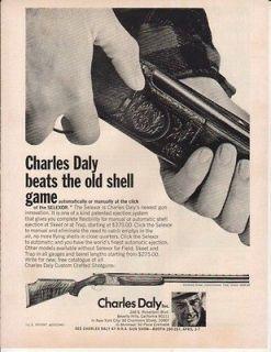 1970 CHARLES DALY AD SELEXOR DIAMOND GRADE SHOTGUN