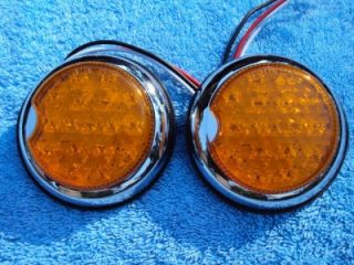 Hot Rod LED Tail Lights Street Rod Rat Rod Stop Turn
