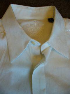 Mens Robert Graham w Long Sleeve Cotton Dress Shirt