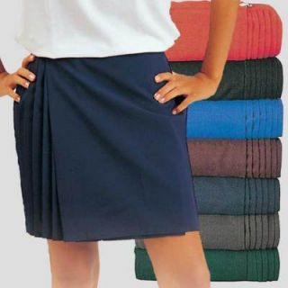 Netball Gym Sports Pleated Ladies Girls Wrapover Skirt