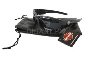 Auth Harley Davidson Sunglasses HDS573 Gray Gray Pouch