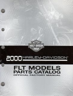 2000 Harley Davidson Touring Road King Parts Catalog 99456 00A