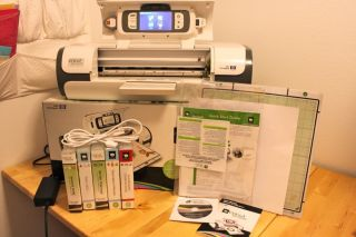 Cricut Imagine Print and Die Cut System Bundle w 5 Cartridges plus