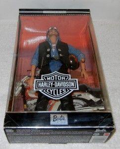 Barbie Doll Collector Edition Ken 1999 Harley Davidson Motorcycle