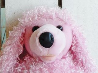 Build A Bear Workshop Pink Poodle Plush Stuffed Animal Dog Puppy 20