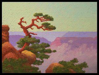 Glass Grand Canyon Lone Cedar Byxbe Sandzen Start $1