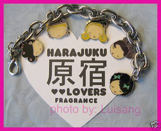 HARAJUKU LOVERS BRACELET MULTI CHARM AUTHENTIC LIMITED EDITION GWEN