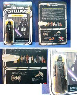 1977 Star Wars Darth Vader Figure Italy Harbert Harbert