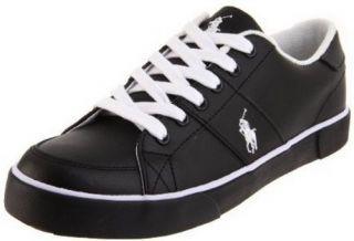 Polo Ralph Lauren Harold Black Fashion Sneakers Size 9 D