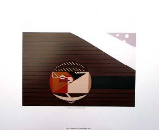 Charles Charley Harper Cozy Chipmunk Certificate of Authenticity