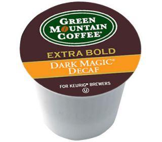 24 Keurig K Cups Green Mountain Coffee Dark Magic Decaf