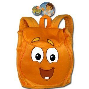 Plush Backpack Go Diego Go New Rescue Soft Doll Toy Back Bag Anime
