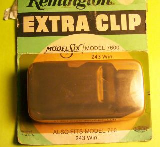 Remington Clip Magazine For Model 7600 Model 6 Also 760 243 caliber