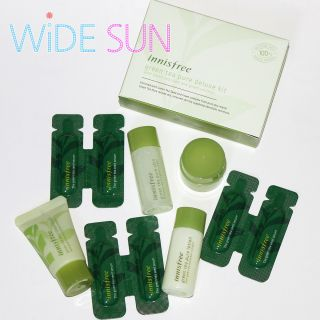 INNISFREE Green Tea Pure Deluxe Kits 5type Cream Serum Skin Lotion