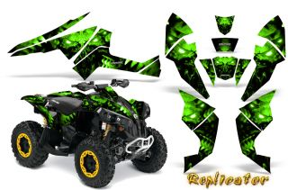 Can Am Renegade Graphics Kit Decals Stickers Creatorx RCG