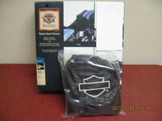 Harley Davidson 51638 97 Rain Seat Cover For Solo Seats Except XR