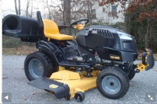 PG 9000 Lawn Garden racor Snow Plow and Grass Baggers
