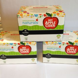 Green Mountain Naturals Keurig 36 K Cups Apple Cider Made w Real