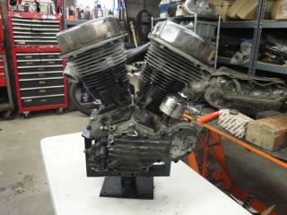 Harley Davidson 1949 Panhead Motor Engine Cases Parts