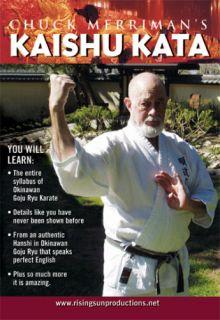 Merriman Okinawan Goju Ryu Kaishu Kata Karate DVD 256