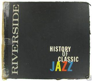 History of Classic Jazz Bill Grauer Prod Riverside 5LP