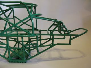 Custom Grave Digger Monster Truck tube chassis   clodbuster crawler