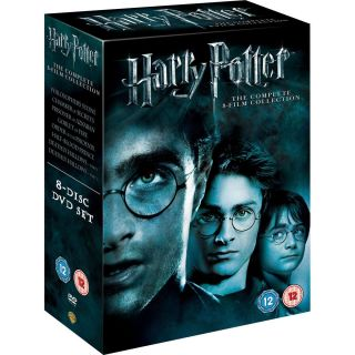 Harry Potter Collection Years 1 8 DVD Complete Box Set NEW Films