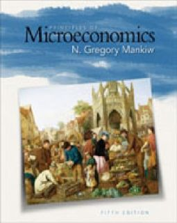 of Microeconomics 5th Fifth US Edition 2008 by N Gregory Mankiw