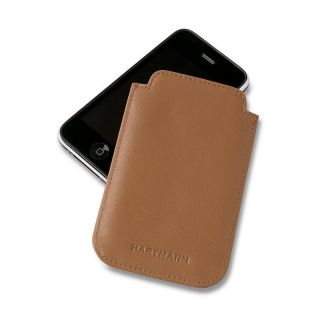 Hartmann Luggage Tan Belting Leather iPhone 3 4 Cover Case