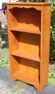 Colonial Rock Maple Vintage Bookcase Camp Furniture by C. H. Hartshorn