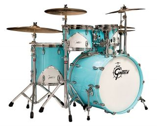 Gretsch Renown 57 5 Piece Drum Kit with Hardware
