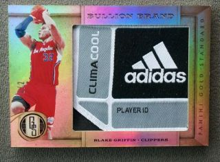 Standard Blake Griffin Bullion Brand Logo Patch 2 2 Tag 1 1