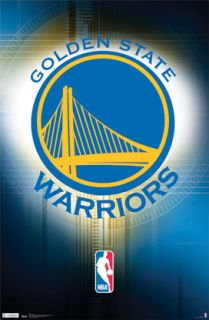Golden State Warriors NBA Basketball Official Team Logo Poster