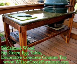 Big Green Egg Table Size Large Egg 21in