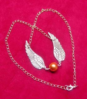 Harry Potter (Golden Snitch Big) Necklace NEW DESIGN (JUST IN TIME