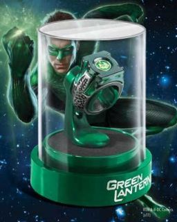 GREEN LANTERN PROP REPLICA MOVIE RING NOBLE COLLECTION FACTORY SEALED