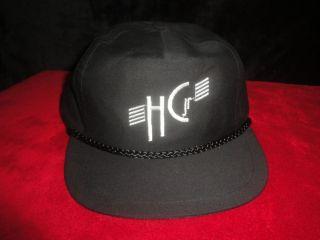 Harry Connick Jr HGJ Tour Hat Cap Vtg New Snapback Embroidered Black