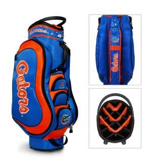 Licensed NCAA Team Golf Medalist Florida Gator Cart Bag Bonus