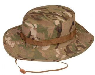 MULTICAM Cotton Poly Twill Boonie Hat by TRU SPEC