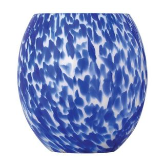 Monte Carlo Fan Company Glass Shade in Blue Rope