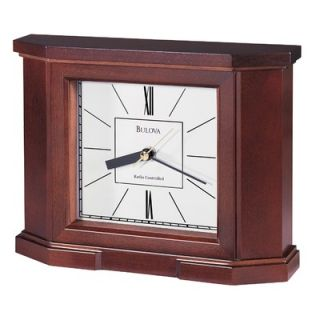 La Crosse Technology Silver Atomic Wall Clock with Moon Phase & Indoor