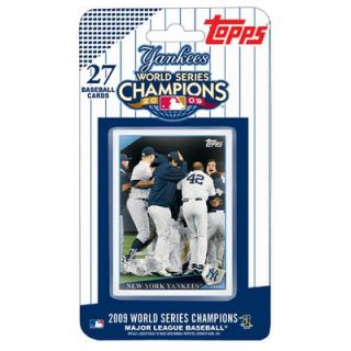 Topps 2009 World Series Champions Set Trading Cards   New York Yankees