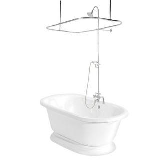 American Standard Hampton Two Handle Diverter Bath Tub/Shower Faucet