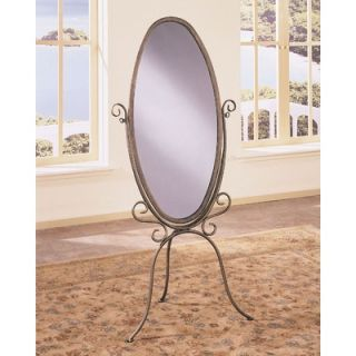 Powell Garden District Scroll Cheval Mirror   147