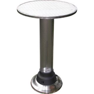 AZ Patio Heaters Pub Table with Built In Electric