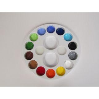 SnazarooUSA Face Paint 14 Color Palette Wheel