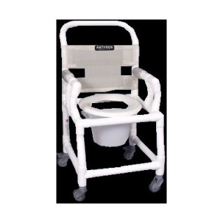 Anthros Medical 16 PVC Shower Chair with Drop Arms   C1620 3P