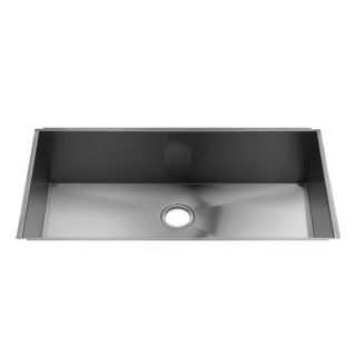 Julien UrbanEdge 37 x 19.5 Stainless Steel Single Bowl Kitchen Sink