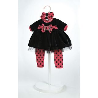 Adora Dolls 20 Baby Doll Black Velvet Costume   20920906