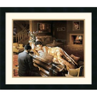 Art Sonata by Edward Clay Wright Framed Fine Art Print   19 x 22.25